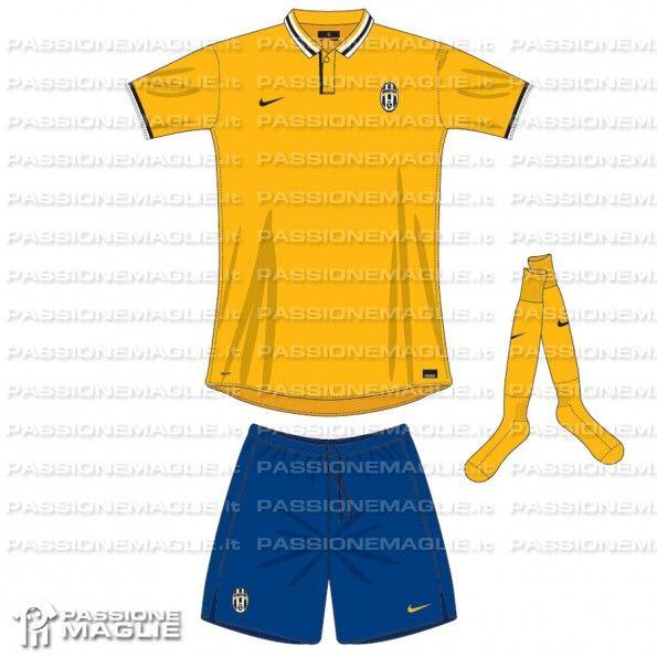 Anteprima seconda maglia Juventus 2013-2014 Nike