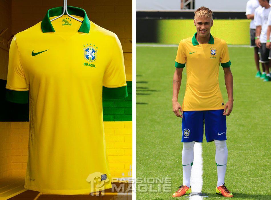Maglia Brasile 2013 Nike