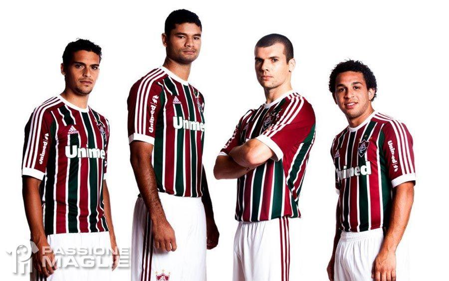Maglia home Fluminense 2013 adidas