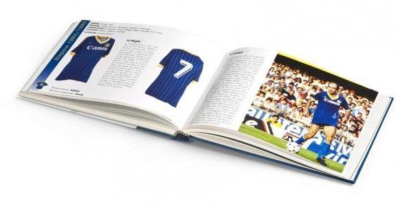 Interno libro La maglia gialloblù stagione 1984