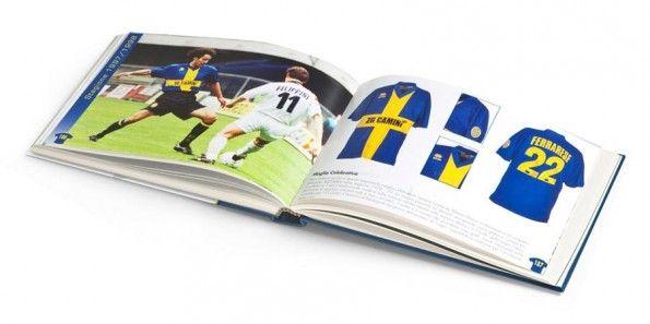 Interno libro La maglia gialloblù stagione 1997