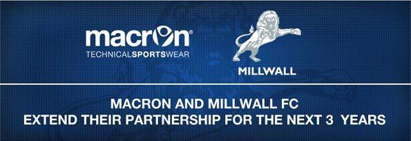 Rinnovo contratto Macron-Millwall