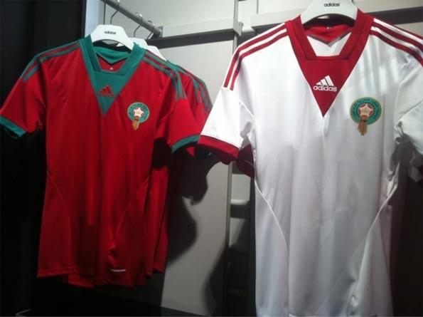 Seconda maglia Marocco 2013