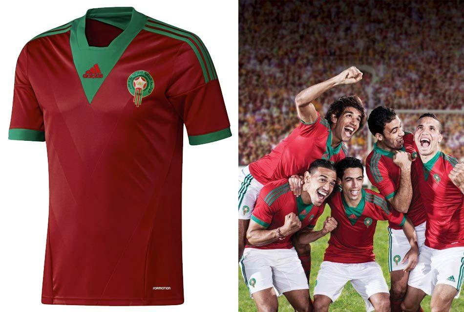 Marocco prima maglia 2013 adidas