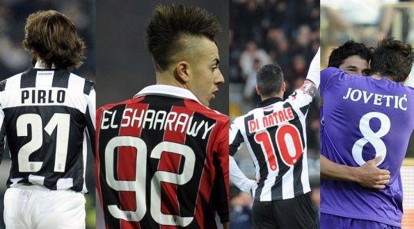 Personalizzazioni maglie Serie A 2012-2013