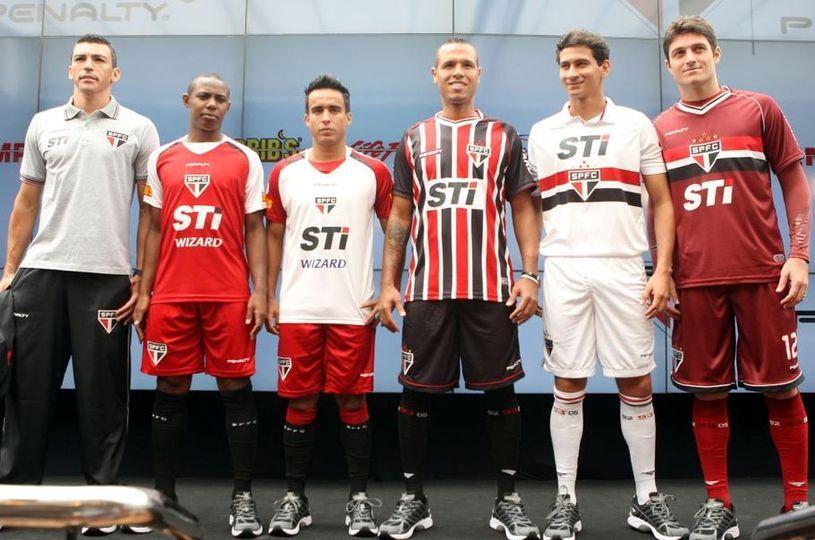 Presentazione kit Sao Paulo 2013 Penalty