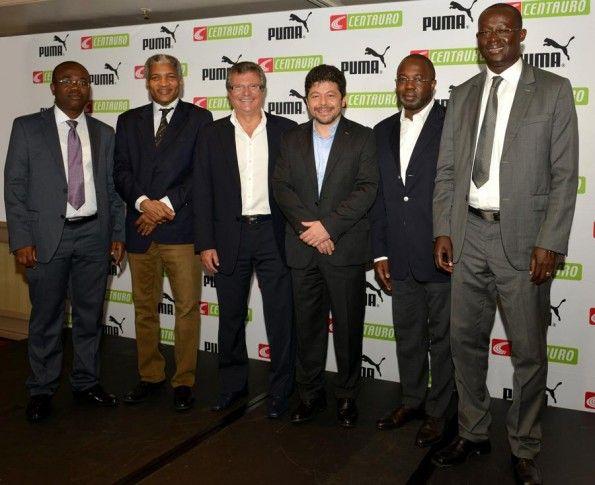 I presidenti delle federazioni africane con Centauro