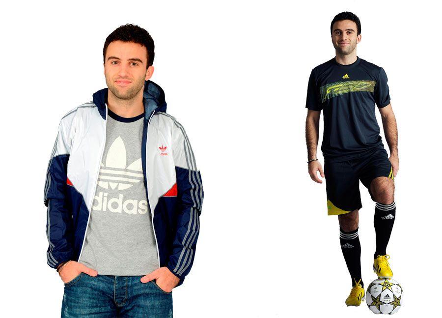 Giuseppe Rossi veste adidas