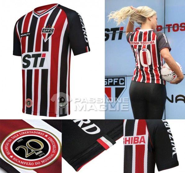 Sao Paulo seconda maglia 2013