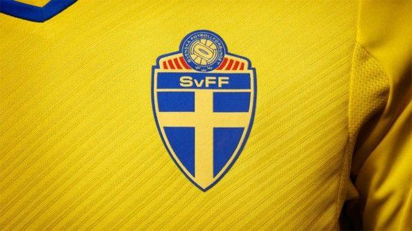 Stemma federazione svedese sulla maglia