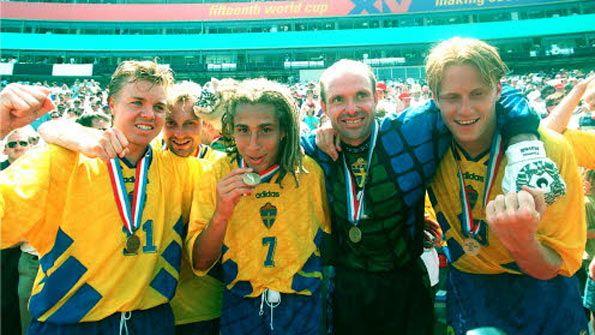 Maglia Svezia Mondiali 1994