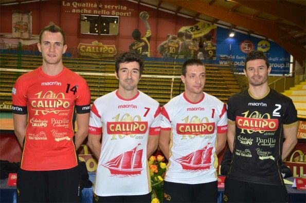 Divise Volley Tonno Callipo centenario