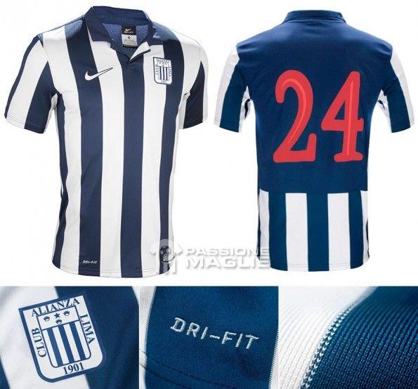 Prima maglia Alianza Lima 2013 Nike