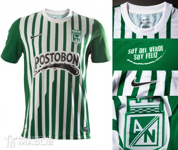 Atletico Nacional prima maglia 2013 Nike