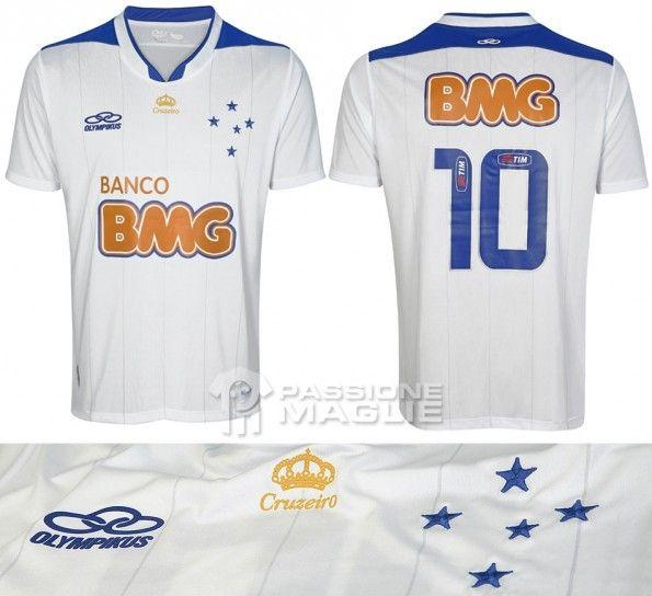 Cruzeiro seconda maglia 2013 Olympikus