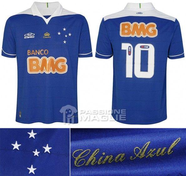 Cruzeiro prima maglia 2013 Olympikus