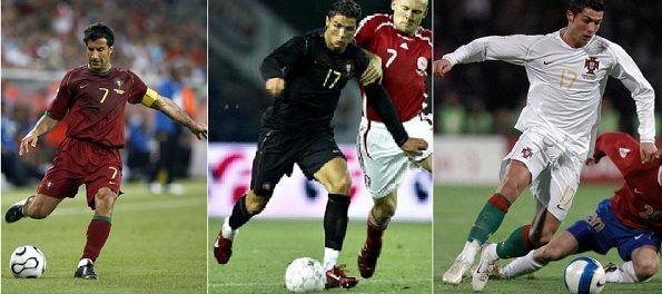 Le maglie del Portogallo 2006-2007