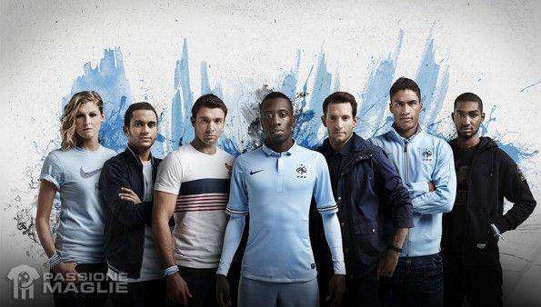 Collezione Francia away 2013 Nike