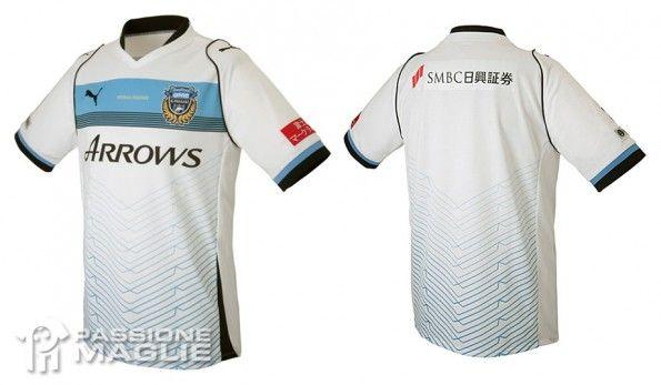 Kawasaki Frontale seconda maglia 2013 Puma