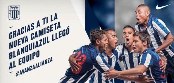 Kit Nike Alianza Lima 2013 home