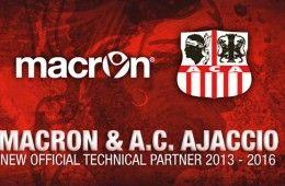 Macron sponsor tecnico Ajaccio