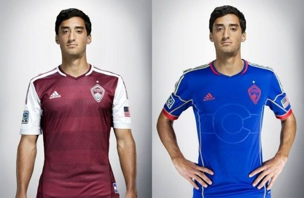 Maglie Colorado Rapids 2013 adidas