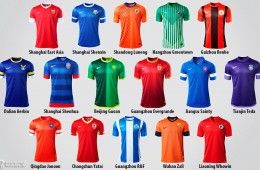 Maglie della China Super League 2013 Nike