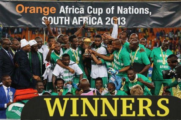 Festeggiamenti della Nigeria Coppa d'Africa 2013