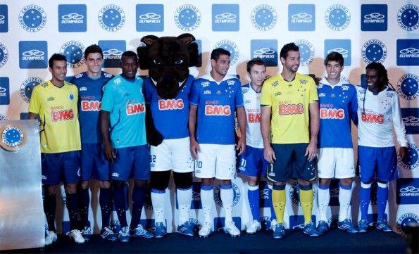 Presentazione kit Cruzeiro 2013 Olympikus