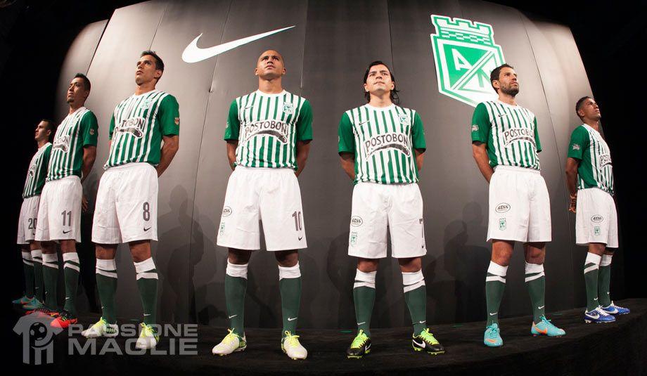 Presentazione kit Atletico Nacional 2013