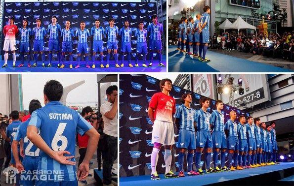 Presentazione kit Chonburi FC 2013 Nike