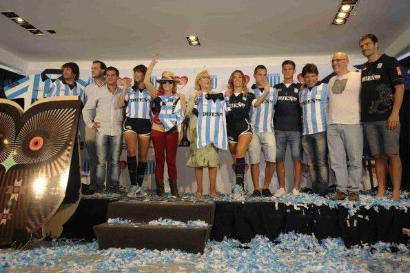 Presentazione divise Racing Club 2013