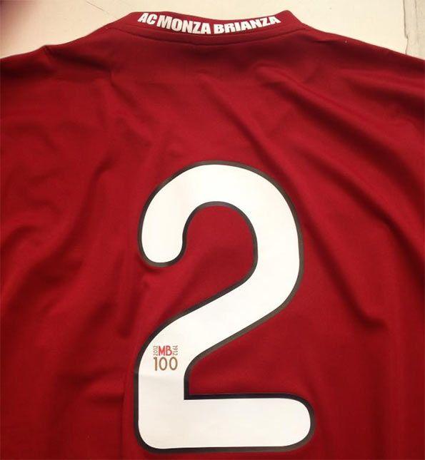 Numero 2 maglia Monza 2012-13