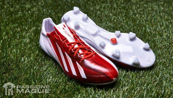 Scarpe Adizero F50 Messi rosse