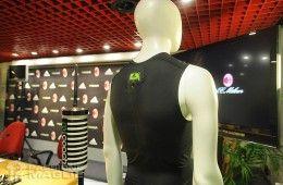Il sensore miCoach adidas sulla schiena