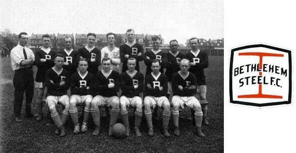 Il Bethlehem Steel FC, squadra più vincente dell'epoca pioneristica del calcio negli USA
