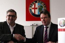 Alfa Romeo sponsor Eintracht
