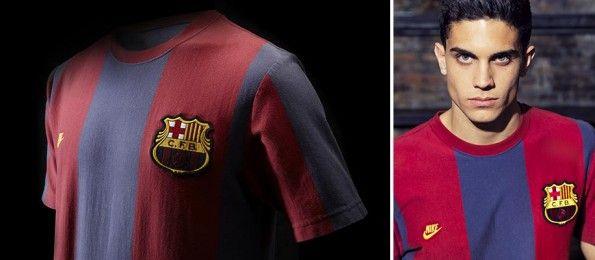 Casacca retrò Nike Barcellona '73