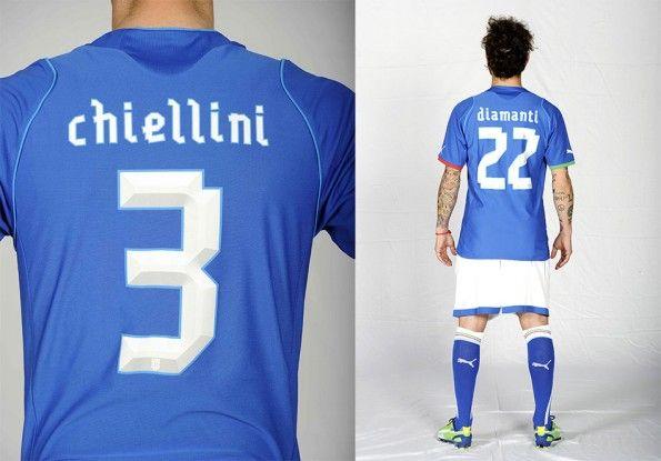 Font maglia Italia 2013 Puma