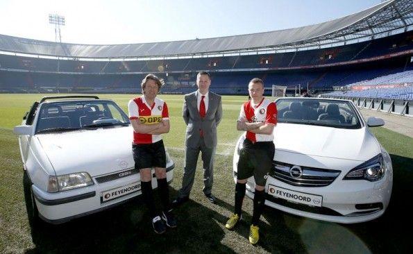 Presentazione accordo tra Feyenoord ed Opel