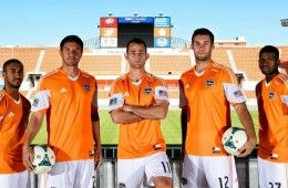 Divisa home Houston Dynamo 2013