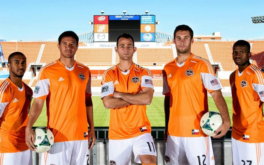 Divisa home Houston Dynamo 2013