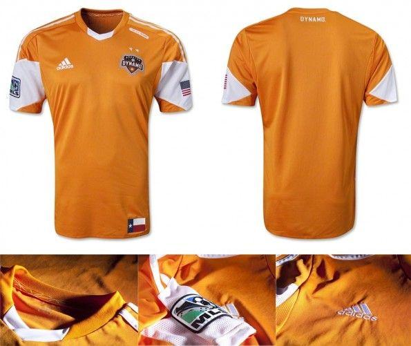 Dynamo Houston prima maglia 2013 adidas