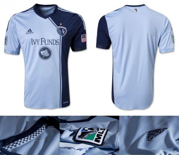 Kansas City prima maglia 2013 adidas