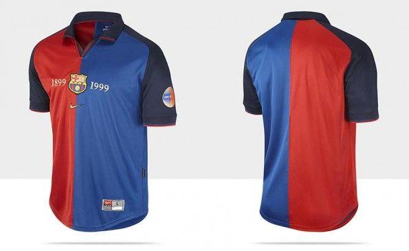 Replica maglia Barcellona Centenario Nike