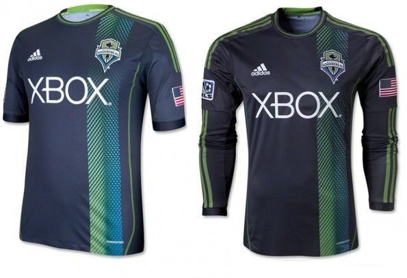 Maglia away Seattle Sounders 2013 adidas