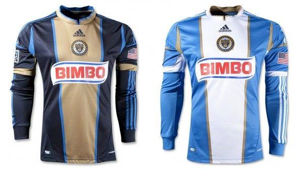 Prima e seconda maglia del Philadelphia Union 2012-2013