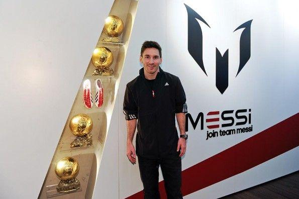 Mostra Leo Messi Barcellona