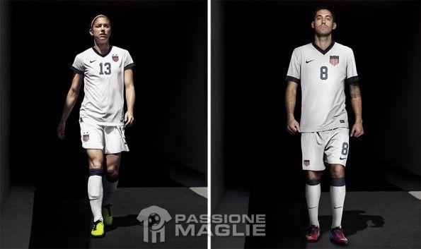 Alex Morgan e Dempsey maglia USA centenario