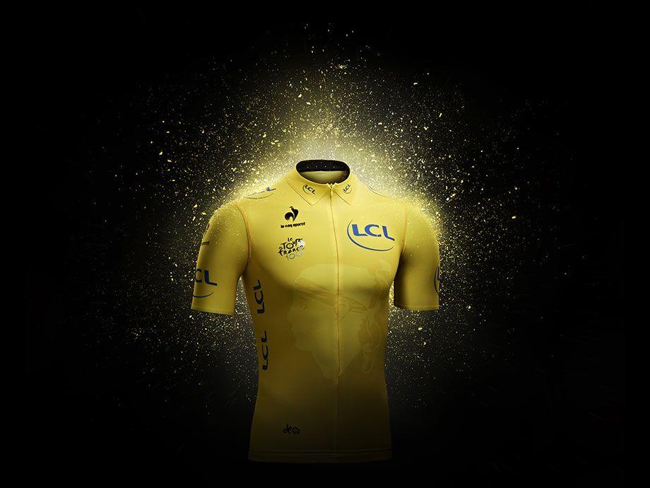 Presentazione maglia gialla Le Coq 2013